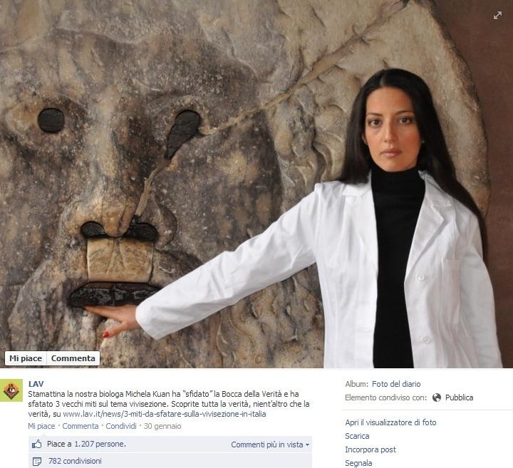 lav ricerca scientifica sperimentazione animale