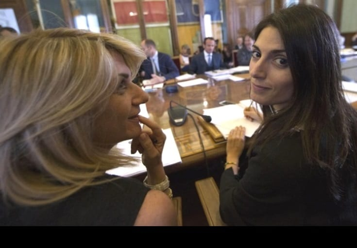 virginia raggi carla romana raineri