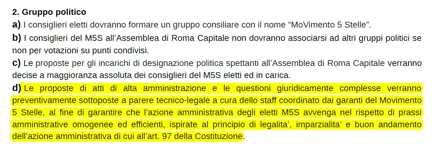 monello raggi sentenza tribunale roma contratto m5s lombardi - 1