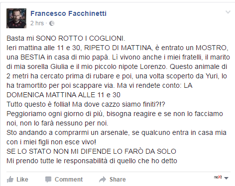 francesco facchinetti legittima difesa - 1