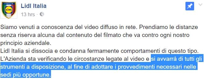 video lidl follonica