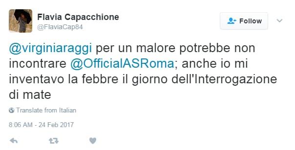 virginia raggi malore complotto - 4