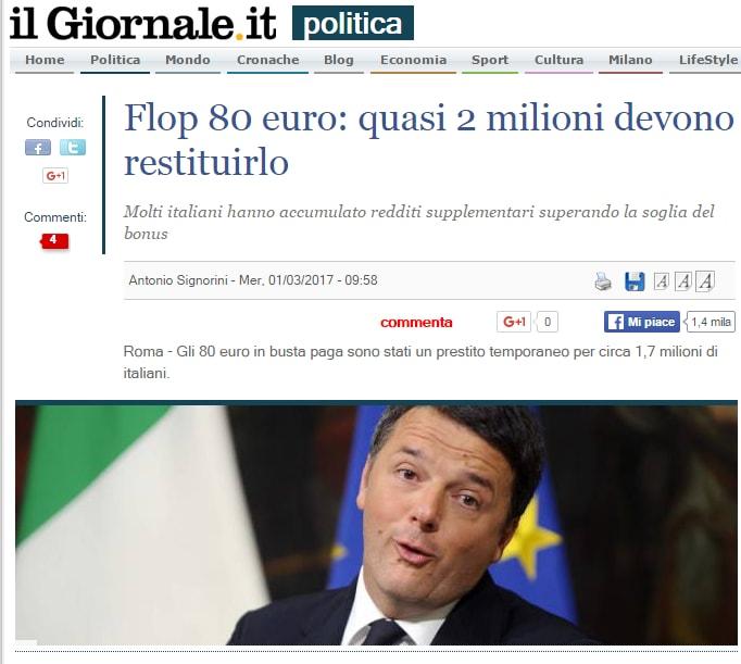 80 euro revocati 2017 renzi - 2