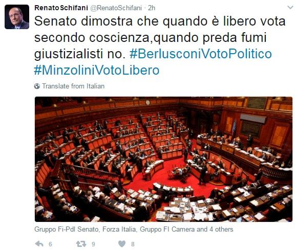 Augusto minzolini decadenza voto - 4