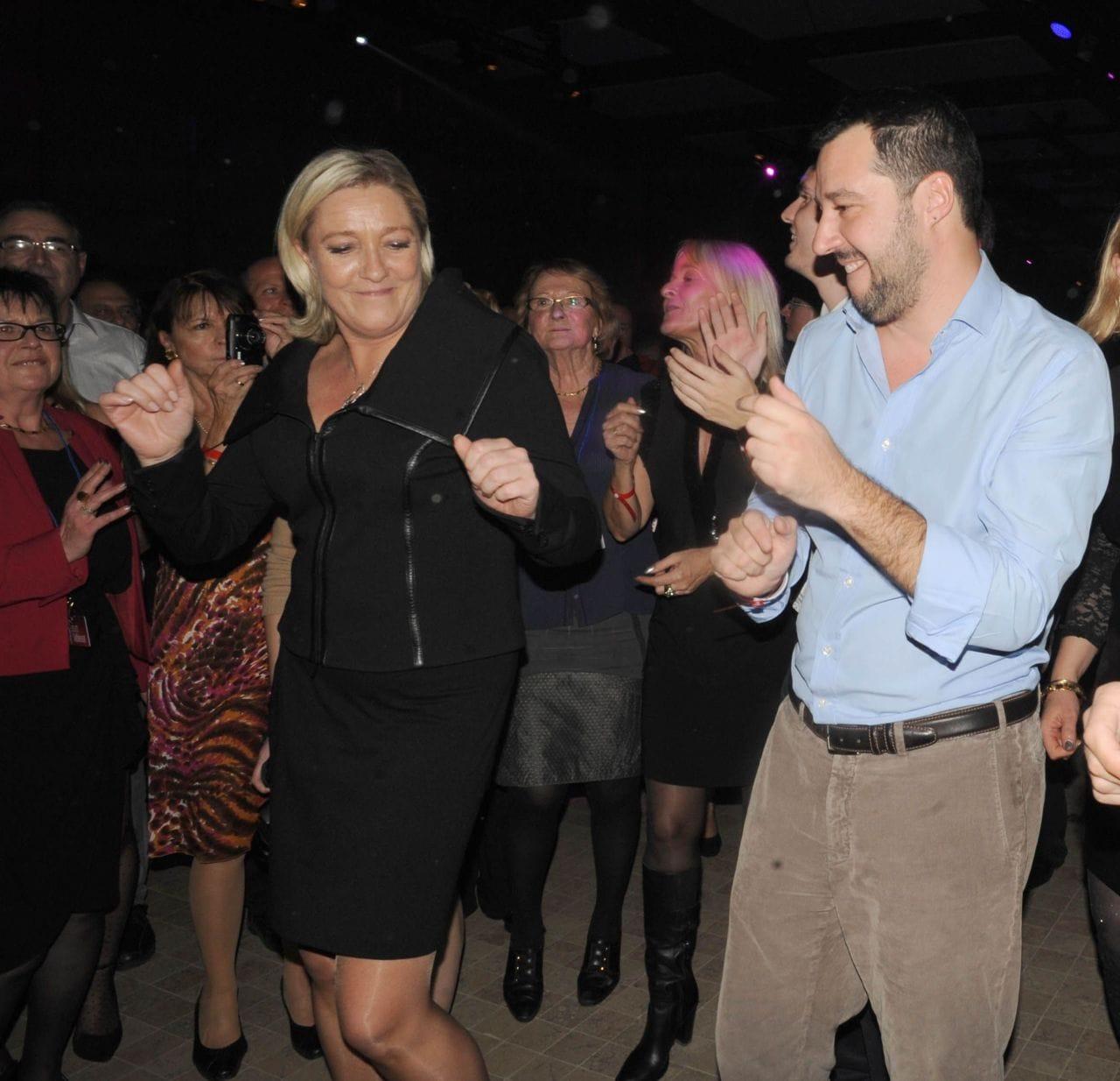 Matteo Salvini immunità Marine Le Pen - 2 m5s