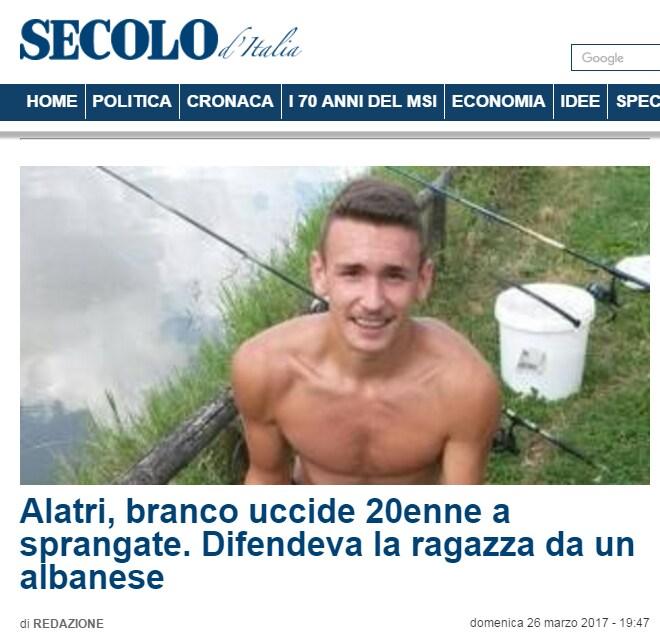 alatri emanuele morganti albanese fake news - 1