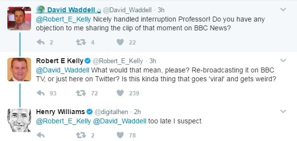 bbc intervista robert kelly bambini - 5