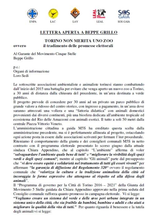 bioparco zoom torino michelotti ambientalisti appendino - 2