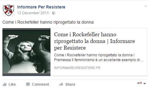 david rockefeller complotti - 2