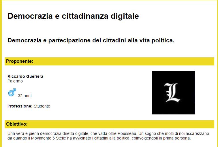 lex grilline democrazia digitale diretta - 1