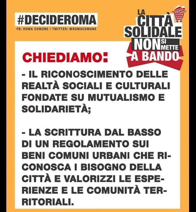 manifestazione decide roma roma comune sfratti associazioni delibera 140 - 2
