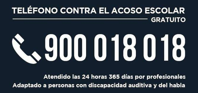 900 018 018 numero telefono bullismo 1