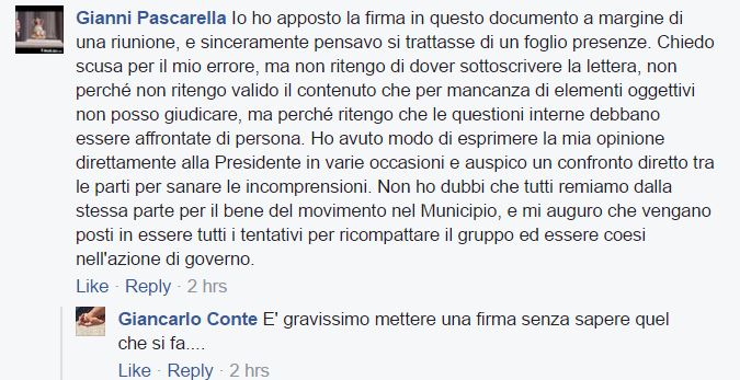 III municipio Francesca Burri m5s 2
