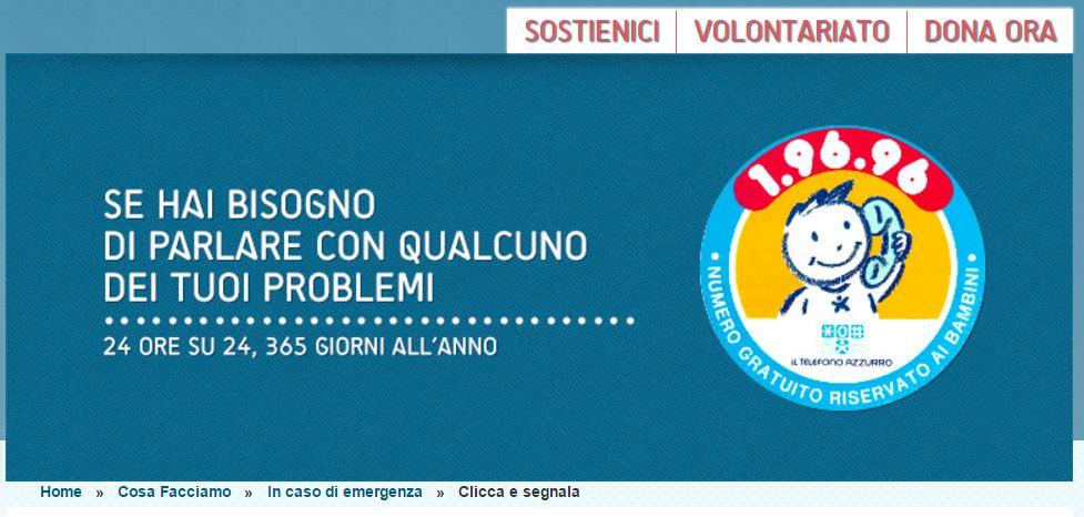numero contro bullismo italia