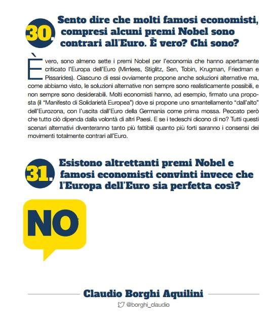 premi nobel euro no euro le pen salvini - 1