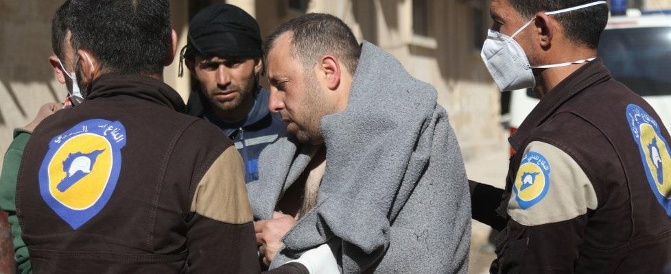 sarin iprite vx gas siria attacco chimico Khan Sheikhun 1