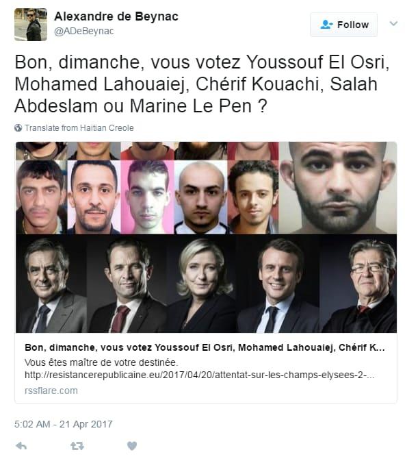 sciacalli le pen attentato parigi el osri - 1