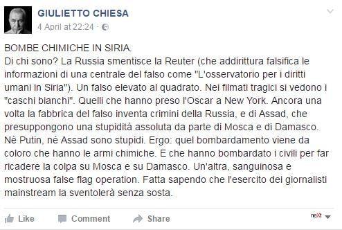 siria fake news complotti - 7