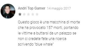 blue whale whatsapp italia - 4