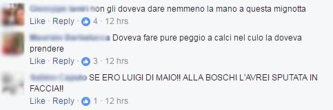 di maio boschi insulti stretta di mano - 4