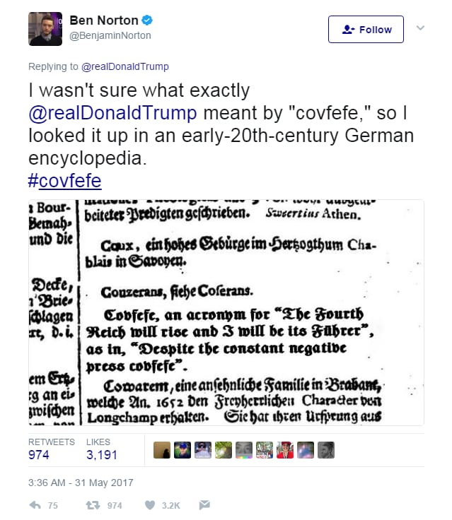 donald trump tweet covfefe - 3
