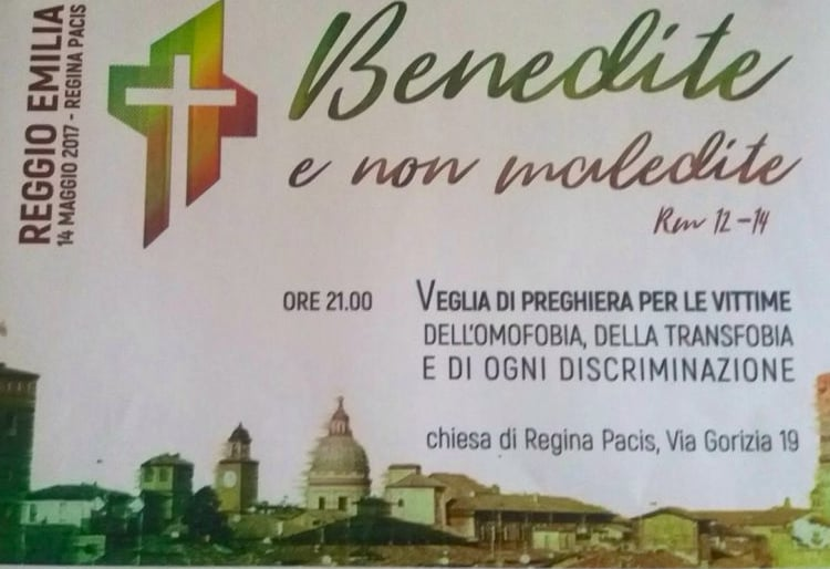 gay pride reggio emilia 2017 processione cattolici - 3