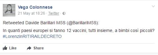 m5s decreto vaccini vega colonnese - 7