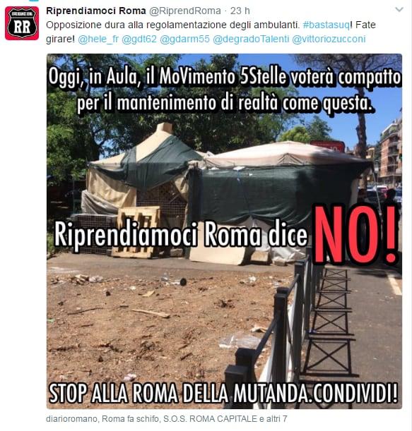 m5s tredicine regolamento commercio roma ambulanti - 4