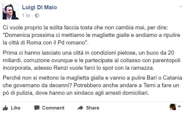 renzi pulirà roma 1
