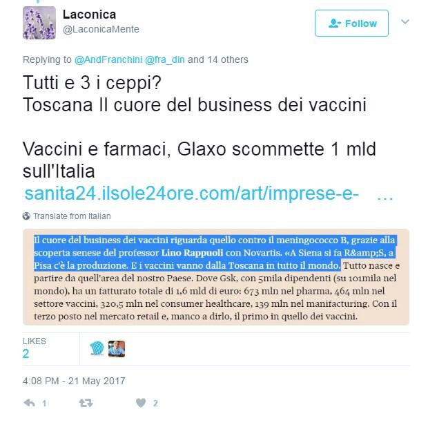 vaccini glaxo complotto - 2
