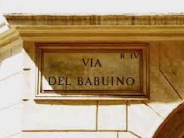 via del babuino roma