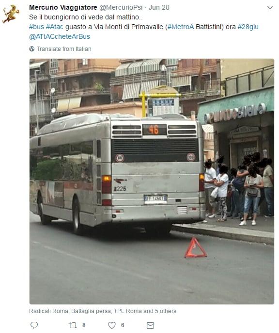atac guasti bus roma - 2