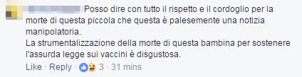 bambina morbillo roma free vax - 2