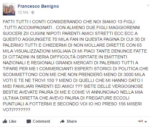 francesco benigno palermo amministrative 2017 -1