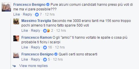 francesco benigno palermo amministrative 2017 -2