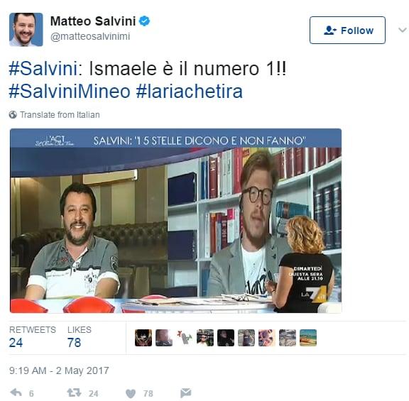 ismaele la vardera salvini palermo - 1