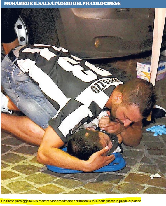 piazza san carlo soldato kelvin mohammed eroe libero giornale - 7