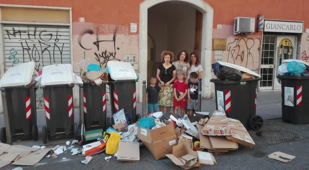 roma immondizia emergenza rifiuti giugno 2017 - 5