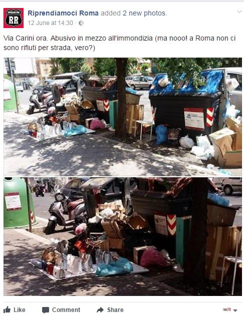 roma immondizia emergenza rifiuti giugno 2017 - 8