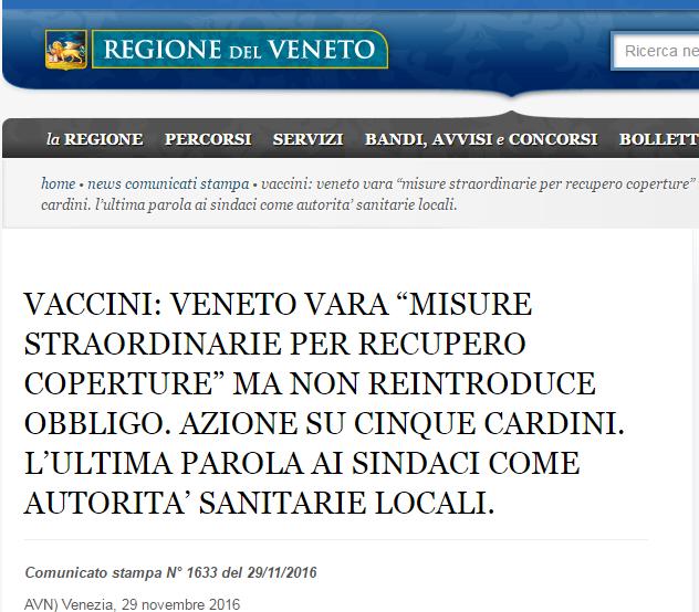 veneto zaia obbligo vaccinale decreto lorenzin vaccini obbligatori - 3