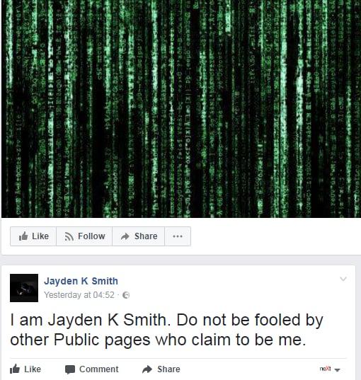 Jayden K. Smith hacker profili fb - 2