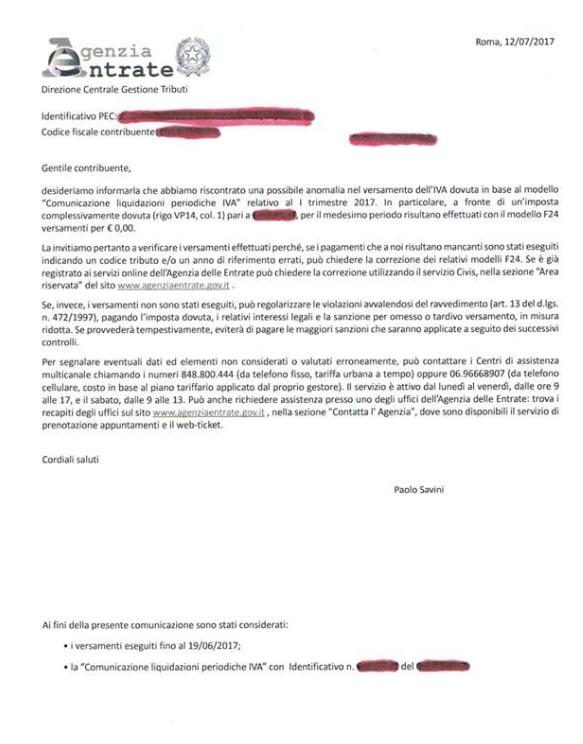 agenzia entrate iva f24 liquidazioni periodiche ravvedimento operoso - 1