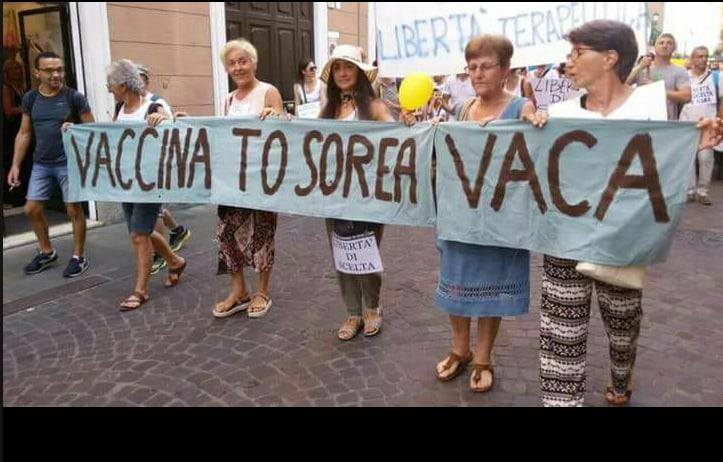 corvelva free vax decreto vaccini obbligatori - 7