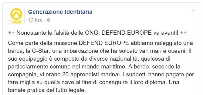 defend europe c-star 1