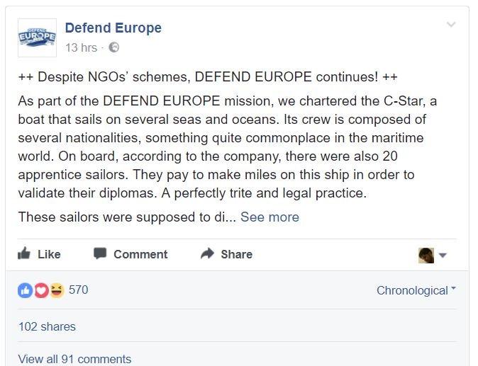 defend europe c-star