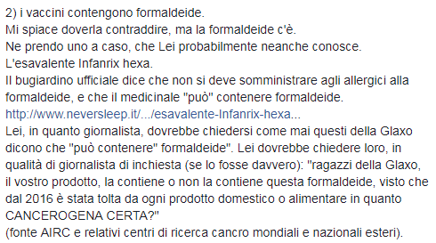 eleonora brigliadori mentana vaccini - 5