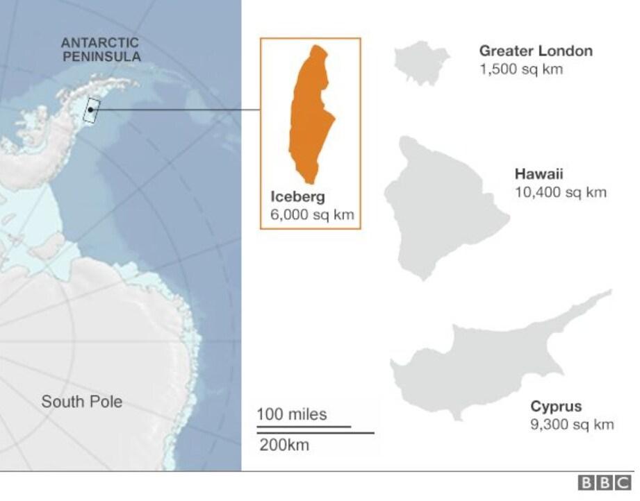 larsen c iceberg a68 antartide - 3