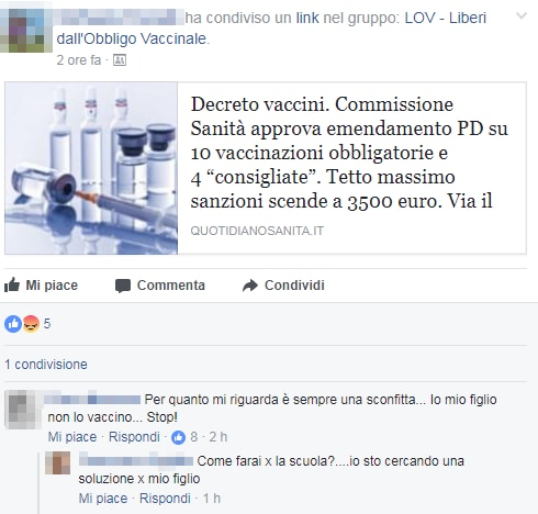 lov vaccini decreto legge lorenzin - 1