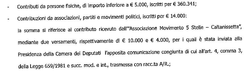 m5s fondazione rousseau bilancio - 4