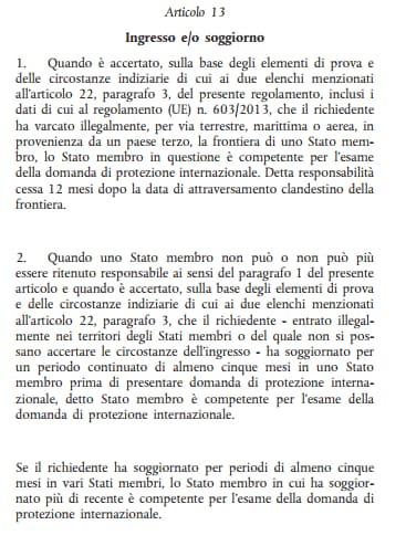 regolamento dublino lega nord m5s pd - 2